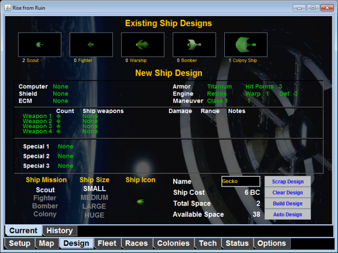 OldShipDesign